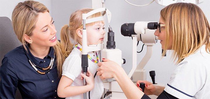 Діагностика зору у дітей