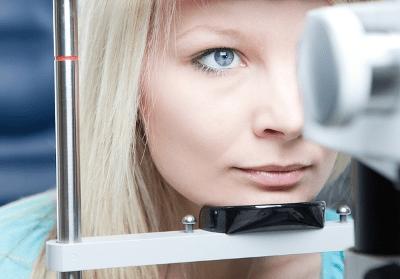 Записатися на діагностику зору