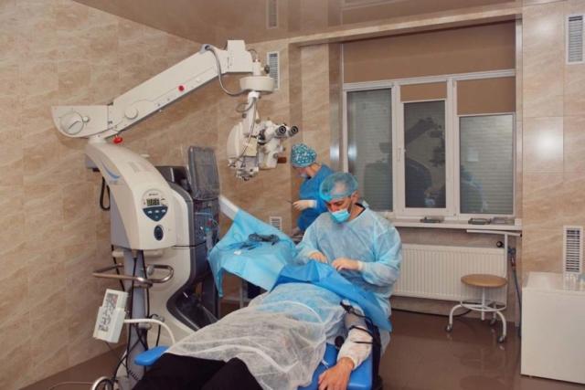 Профессионализм хирурга - и Вы имеете новое зрение!