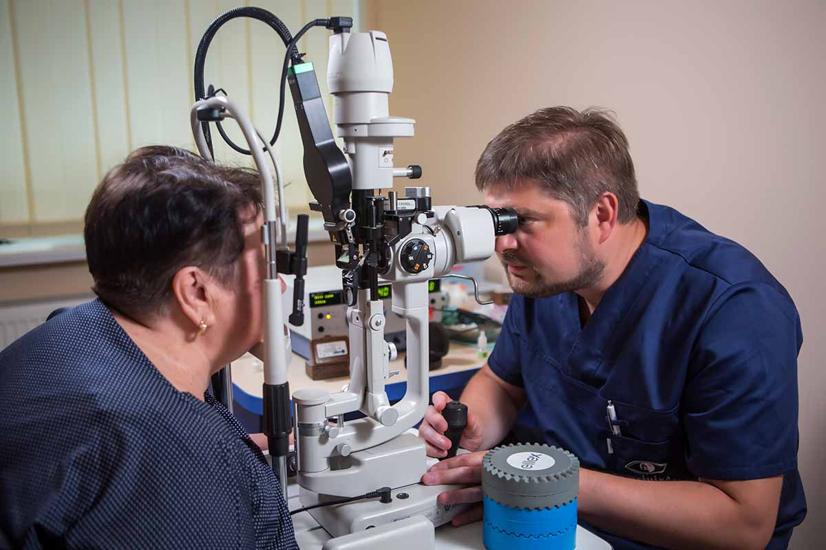 Лазерное лечение сетчатки