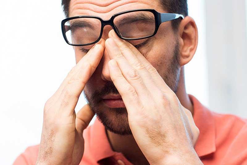 Проявления и диагностика - Синдром «сухого глаза»