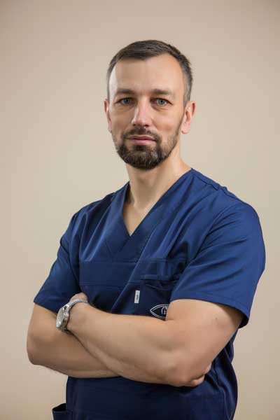 Офтальмолог вищої кваліфікаційної категорії АНАТОЛІЙ БОРИСОВИЧ МАРТИНЕНКО